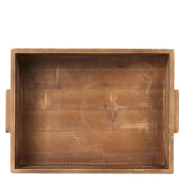 DULTON WOODEN BOX STACKING BOX A H.110 W.260 D.360mm Inside H.90 W.240 D.320mm