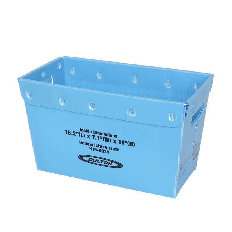 BLUE/H.290mm W.500mm D.270mm/DULTON/ダルトン/HOLLOW LATTICE CRATE L/H19-0039L