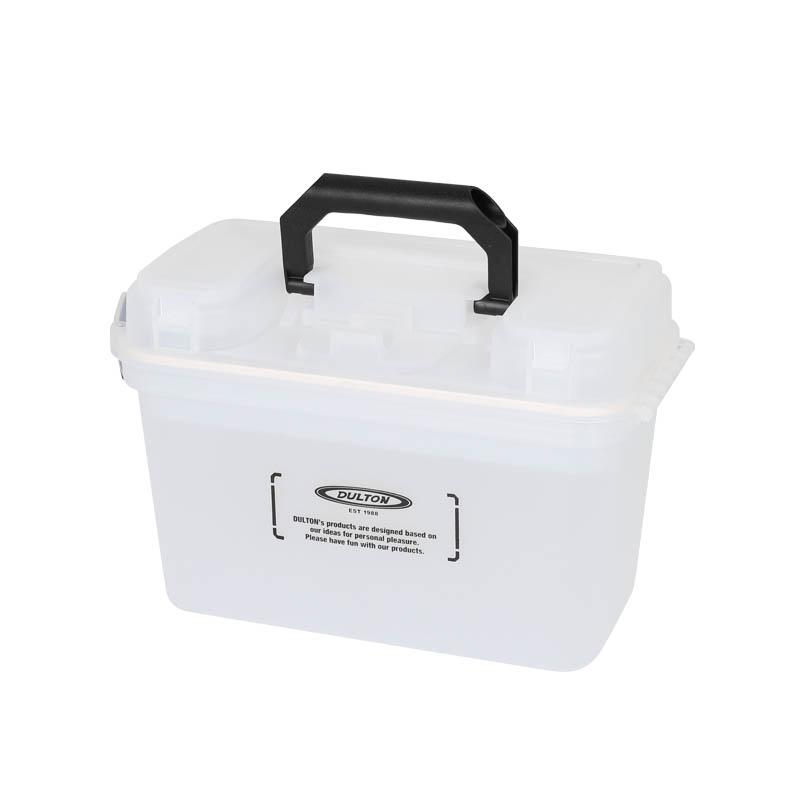 DULTON/ダルトン/H19-0009CL/PORTABLE STORAGE BOX CLEAR