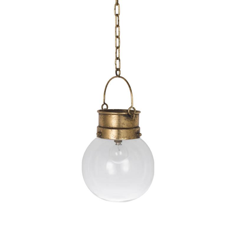 ANTIQUE GOLD/R855-1041/L.E.D LANTERN ''FIREFLY'' /DULTON/ダルトン
